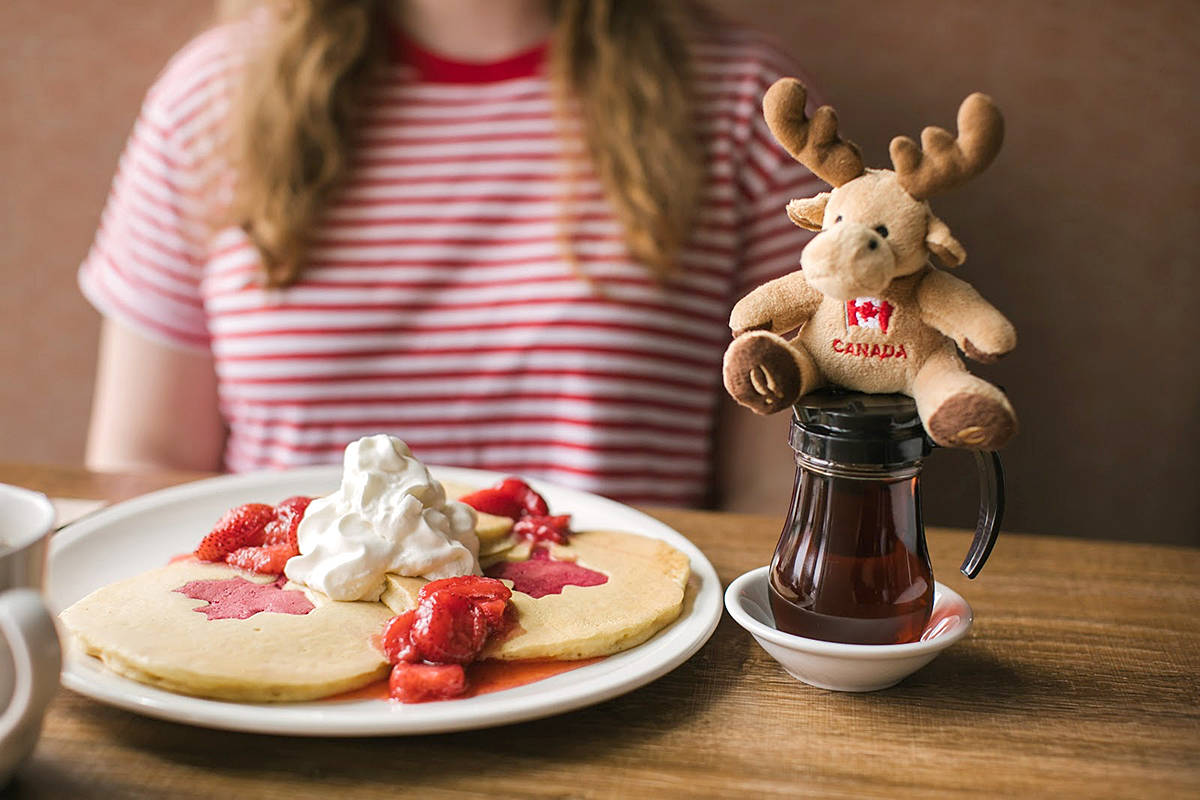 Ricky's has returned with their special O'Canada pancakes next week, using them to raise money for the Breakfast Club of Canada. (Special to the Langley Advance Times)