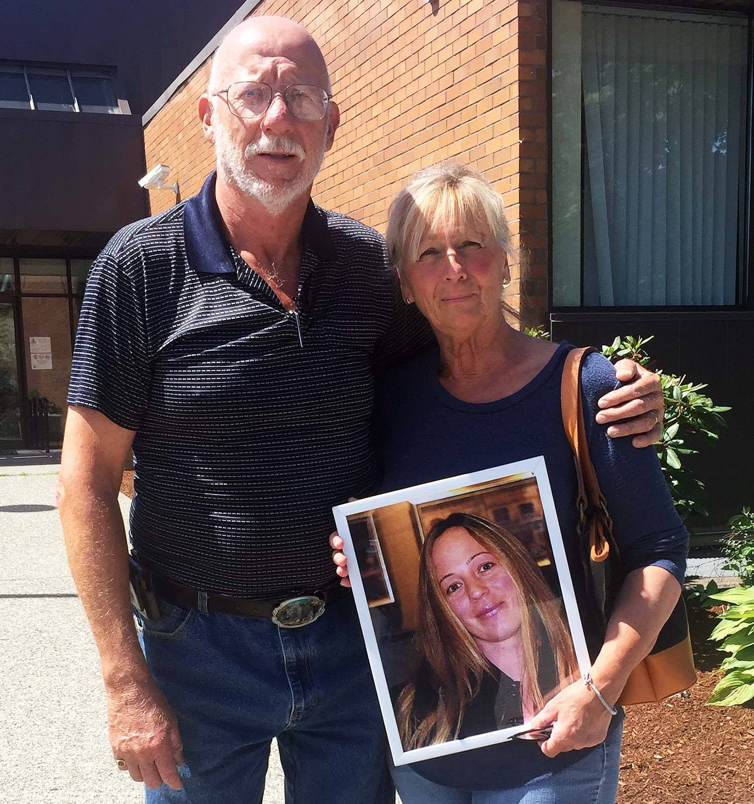 Mark and Rosemarie Surakka have had their daughter's belongings returned to them by the RCMP. / Kevin Mills Photo