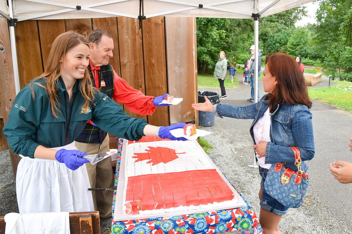 Fort Langley celebrates Canada's past and welcomes country's future