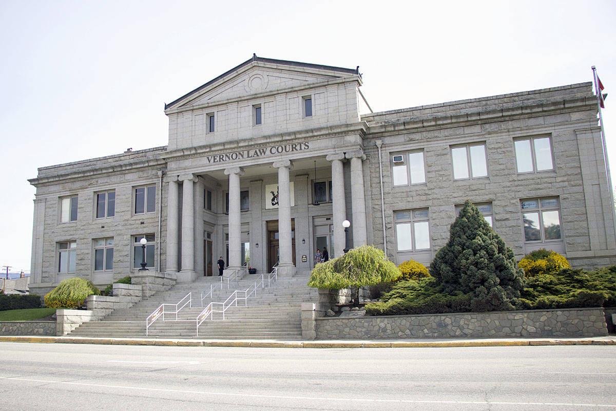 Vernon courthouse. (Brieanna Charlebois - Morning Star)