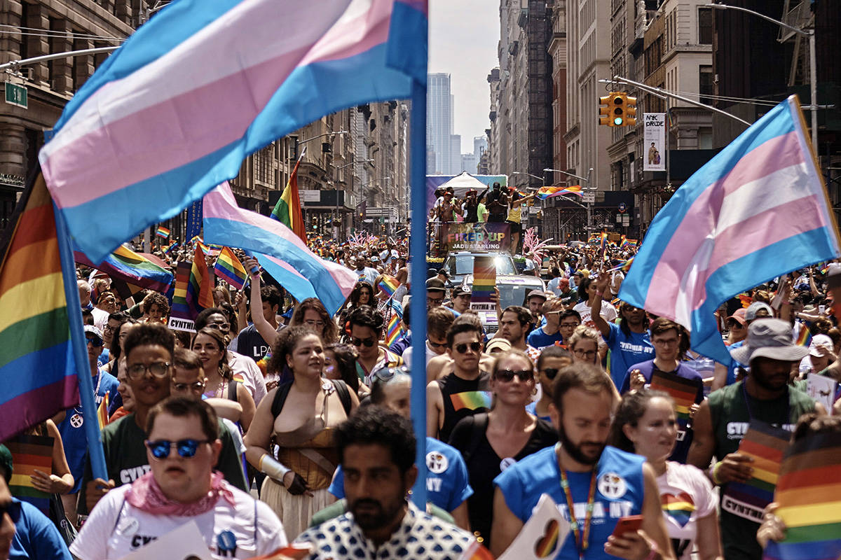 PHOTOS: 50 years of LGBTQ pride showcased in protests, parades