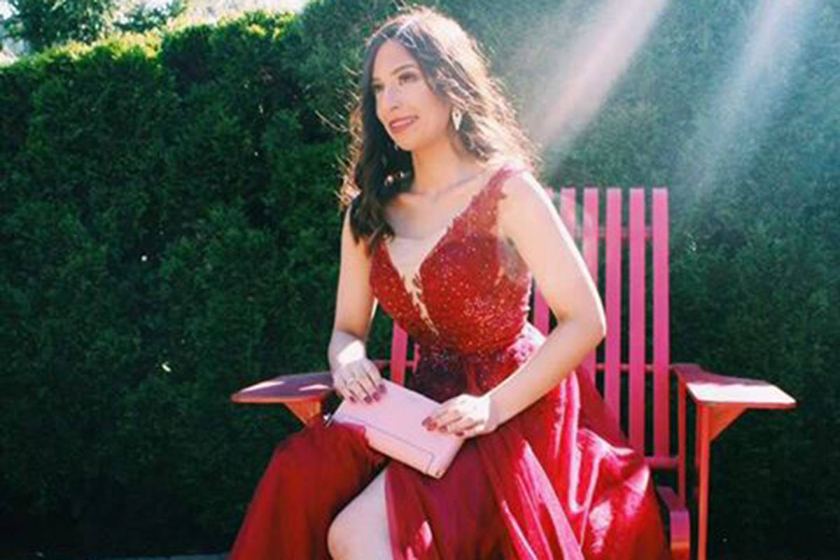 """Langley resident Vanya Shastri readies to compete in Miss Canada Petite, a pageant for young women ages 18 to 29 who are no taller than 5'6"""". (Vanya Shastri/Special to the Langley Advance Times)"""