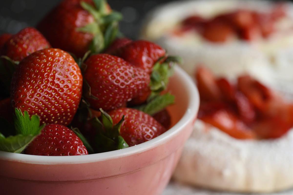 Dreamy strawberry dessert recipes from Chef Heidi Fink