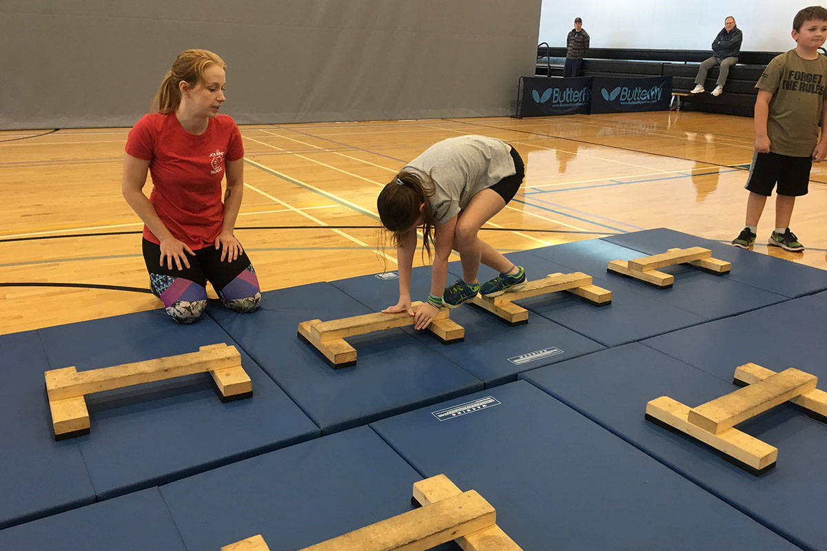 Journey Parkour members get to move over obstacles as Langley's newest sporting club for all ages. (Jessie Simpson/Special to the Langley Advance Times)