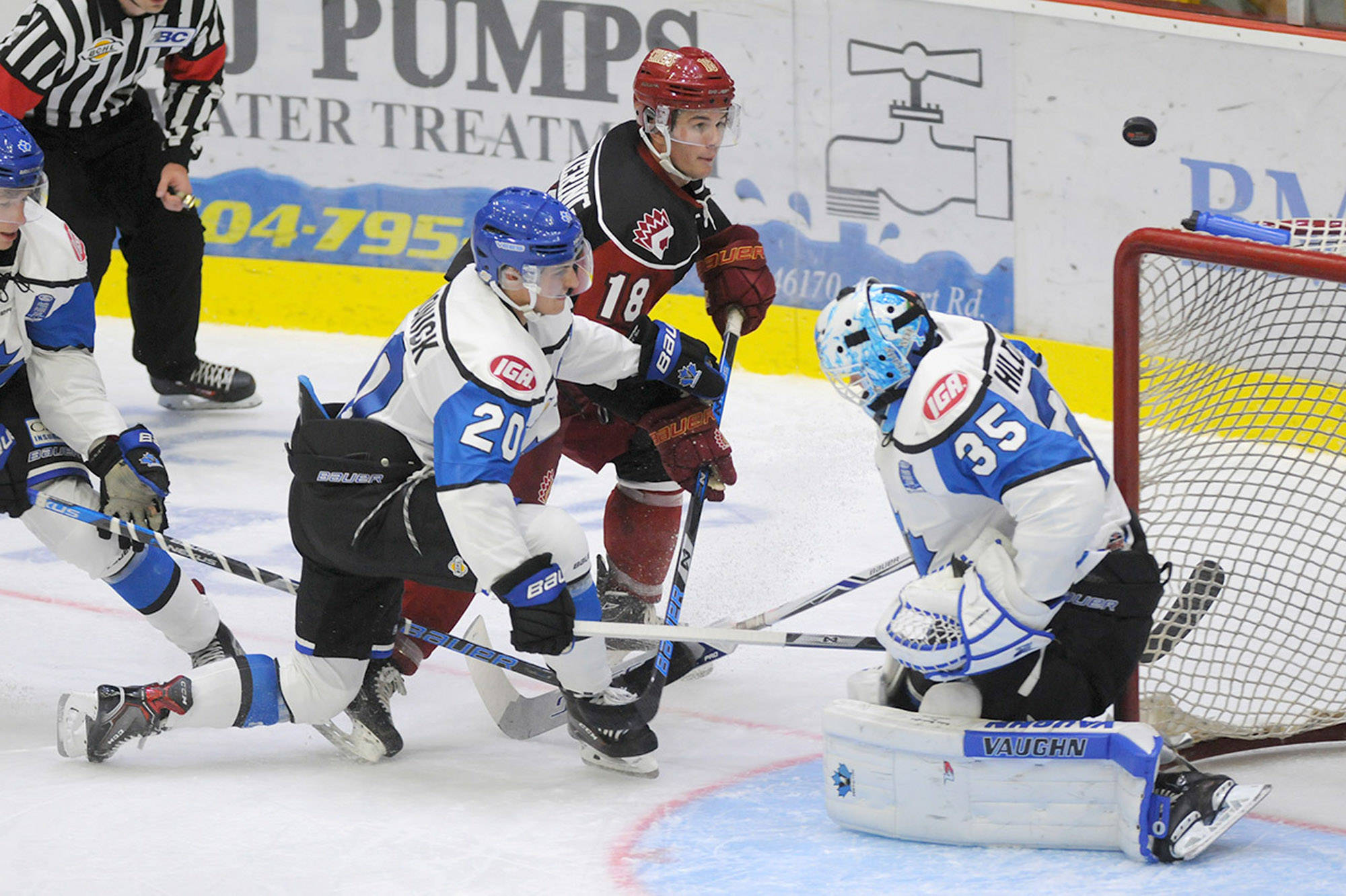 The annual BCHL Showcase is slated to return Oct. 2 through 5, but revamped as 2019 BCHL Showcase Festival. Part of the changes this year includes adding Penticton as a second host city for the Interior teams. Jenna Hauck/Black Press