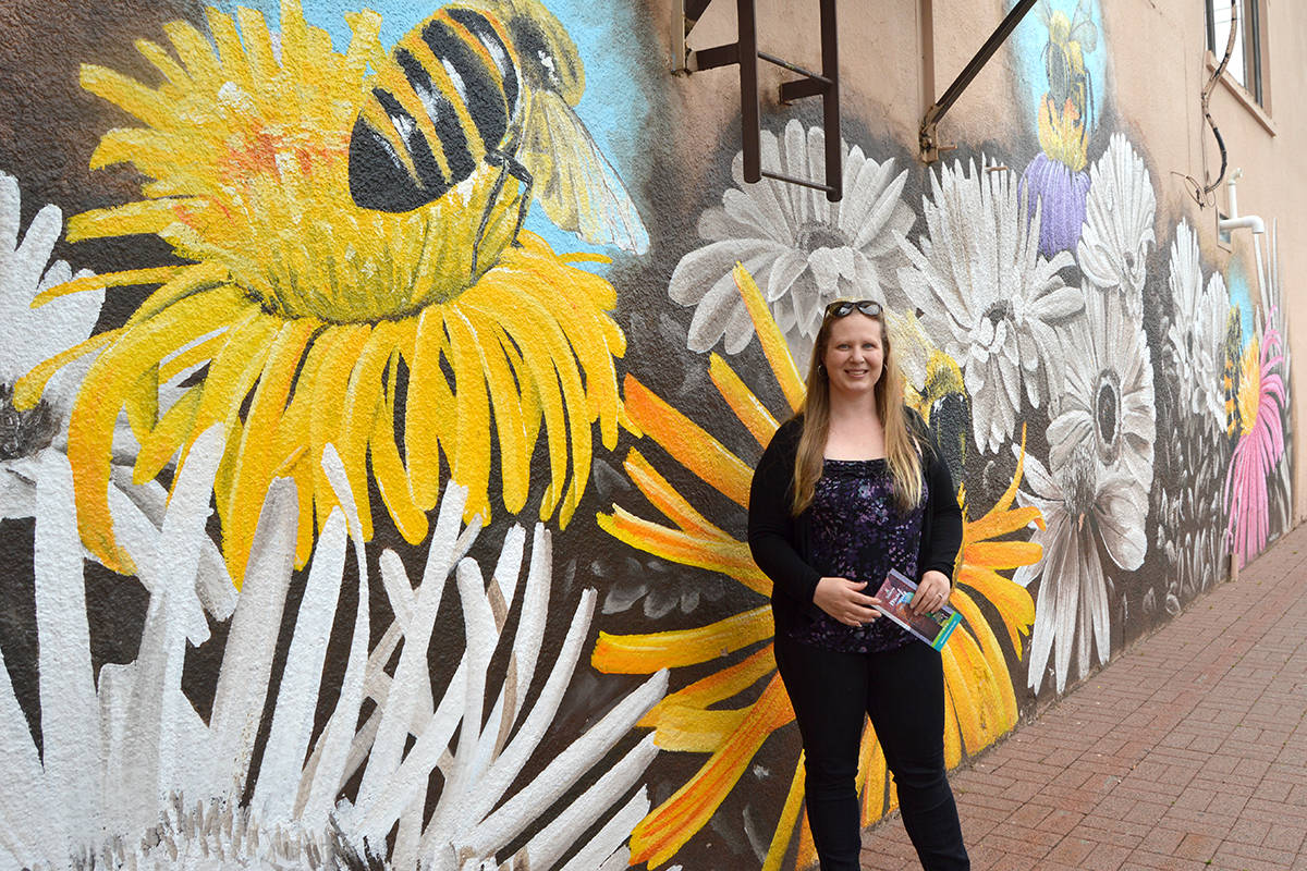 VIDEO: Langley artist's work featured on mural walks