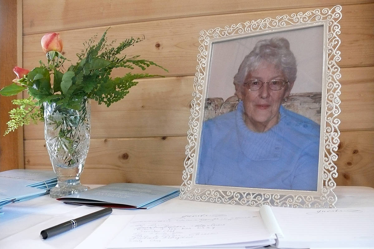Beverly Anne Clay was remembered as a community-minded lover of beautiful gardens. Dan Ferguson Langley Advance Times