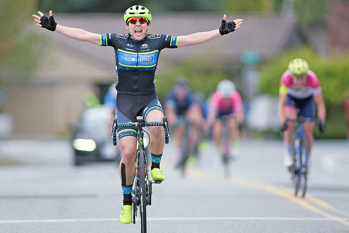 Former TWU champion Alison Jackson won the Tour de Delta. Chris Relke photo