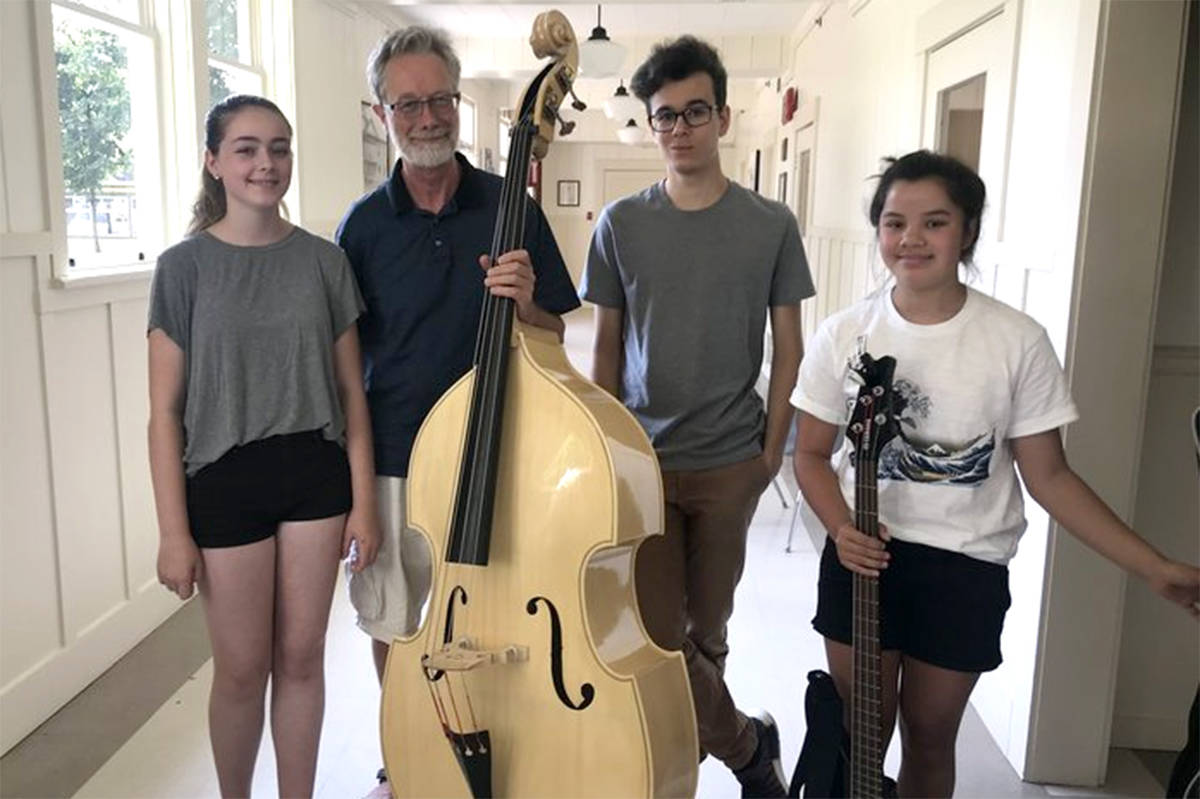 Fort Langley Jazz Fest hosts an annual workshop for young and emerging musicians at the Chief Sepass Theatre. (Karen Zukas/Special to the Langley Advance Times)