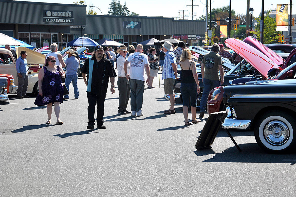 Brogan's Charity Car Show returns for a second year to raise funds to fight cancer. (Langley Advance Times Files)