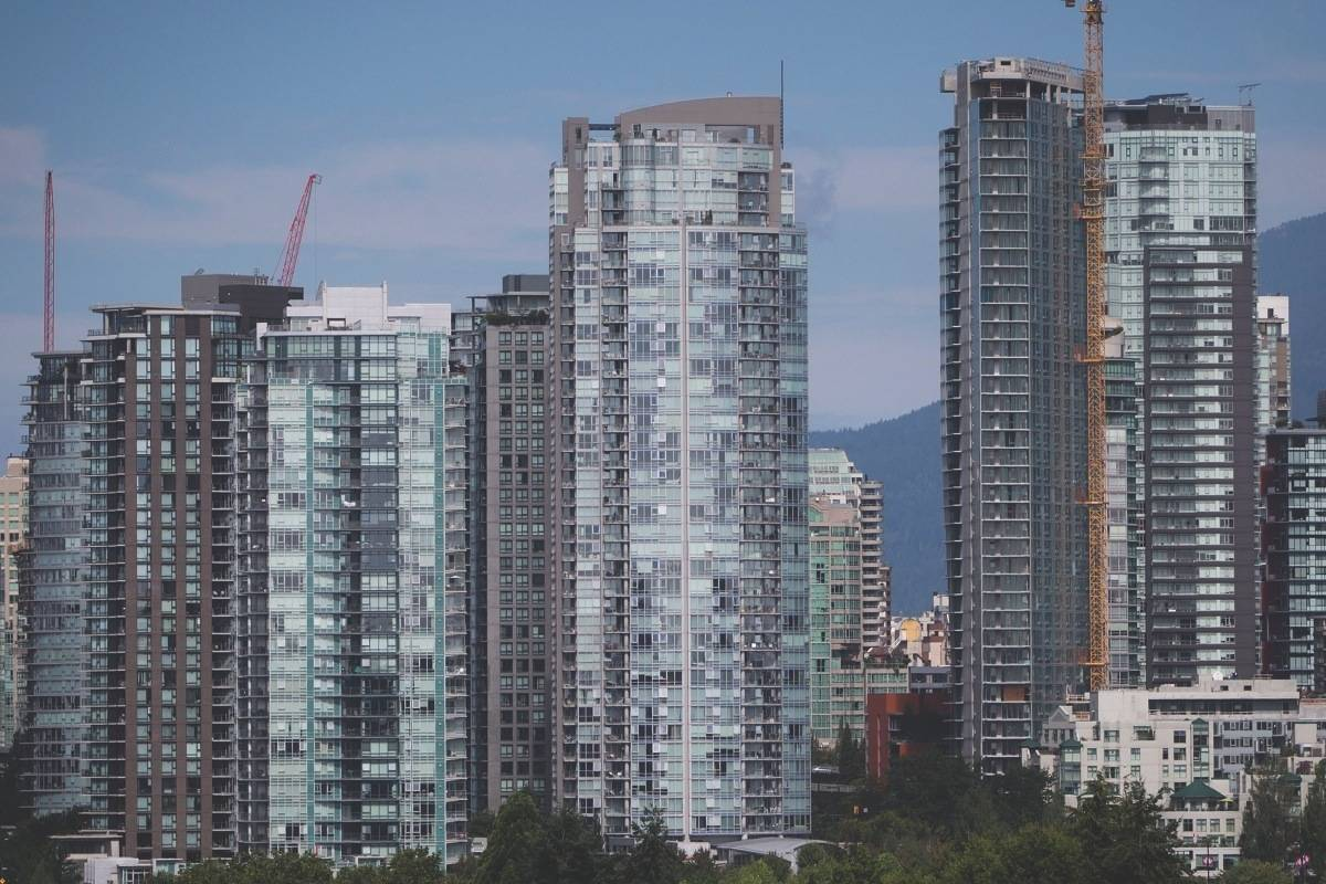 Vancouver condo prices dipped for the first time since 2014. (File photo by THE CANADIAN PRESS)