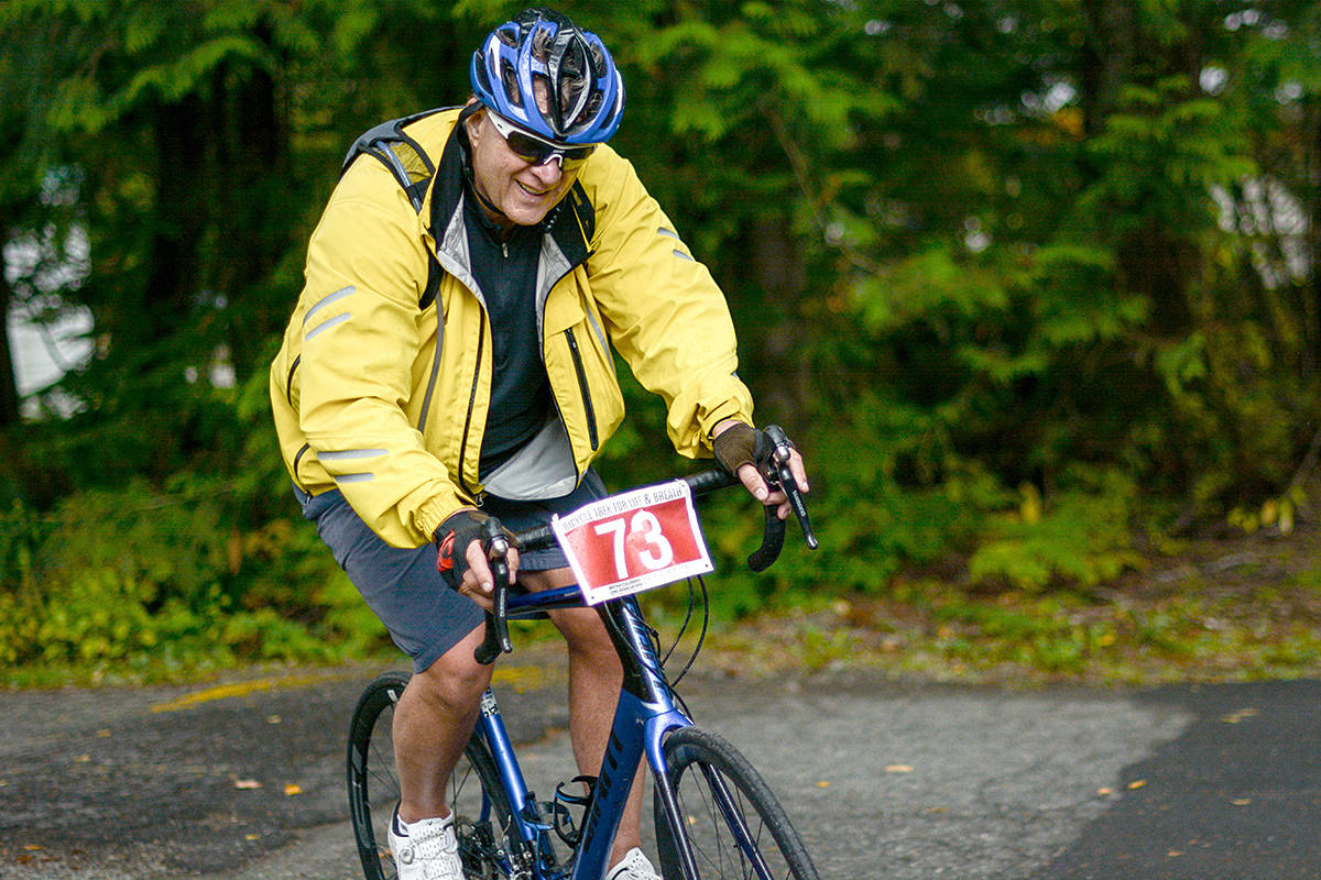 Langley cycling enthusiast gears up for his sixth ride
