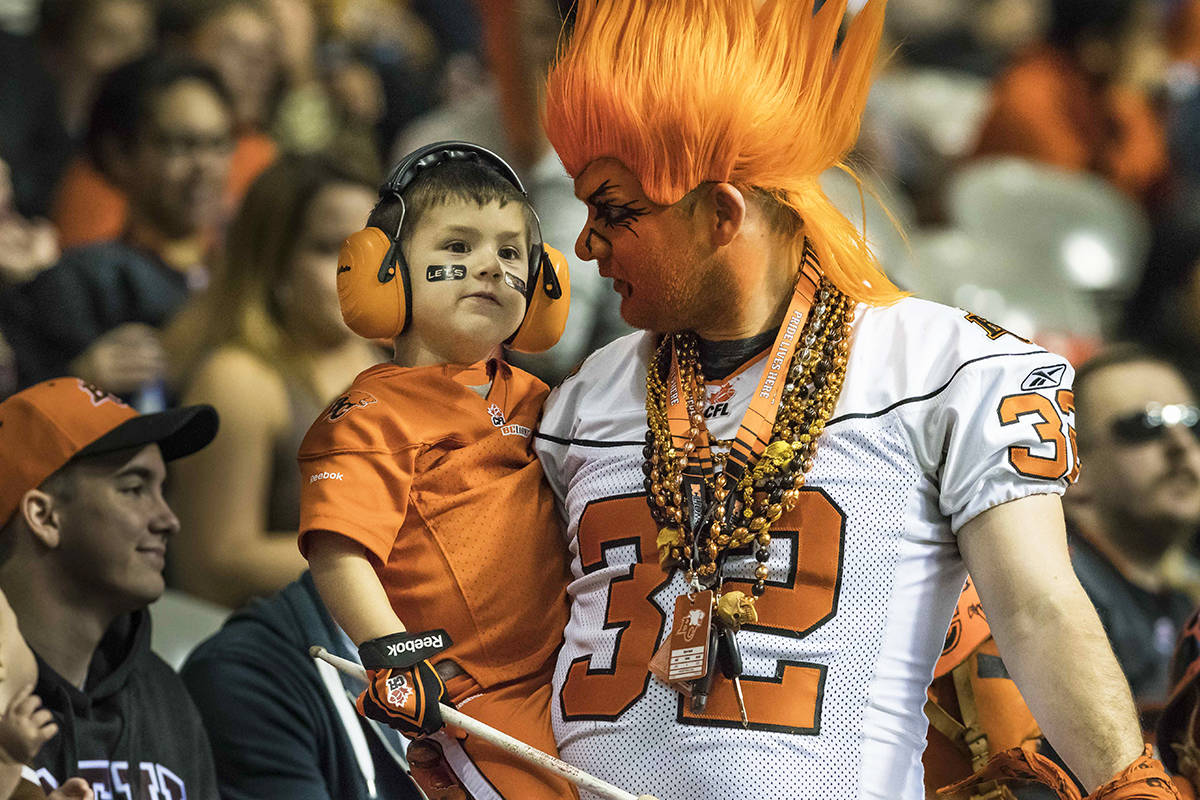Summer, families and the BC Lions a perfect fit