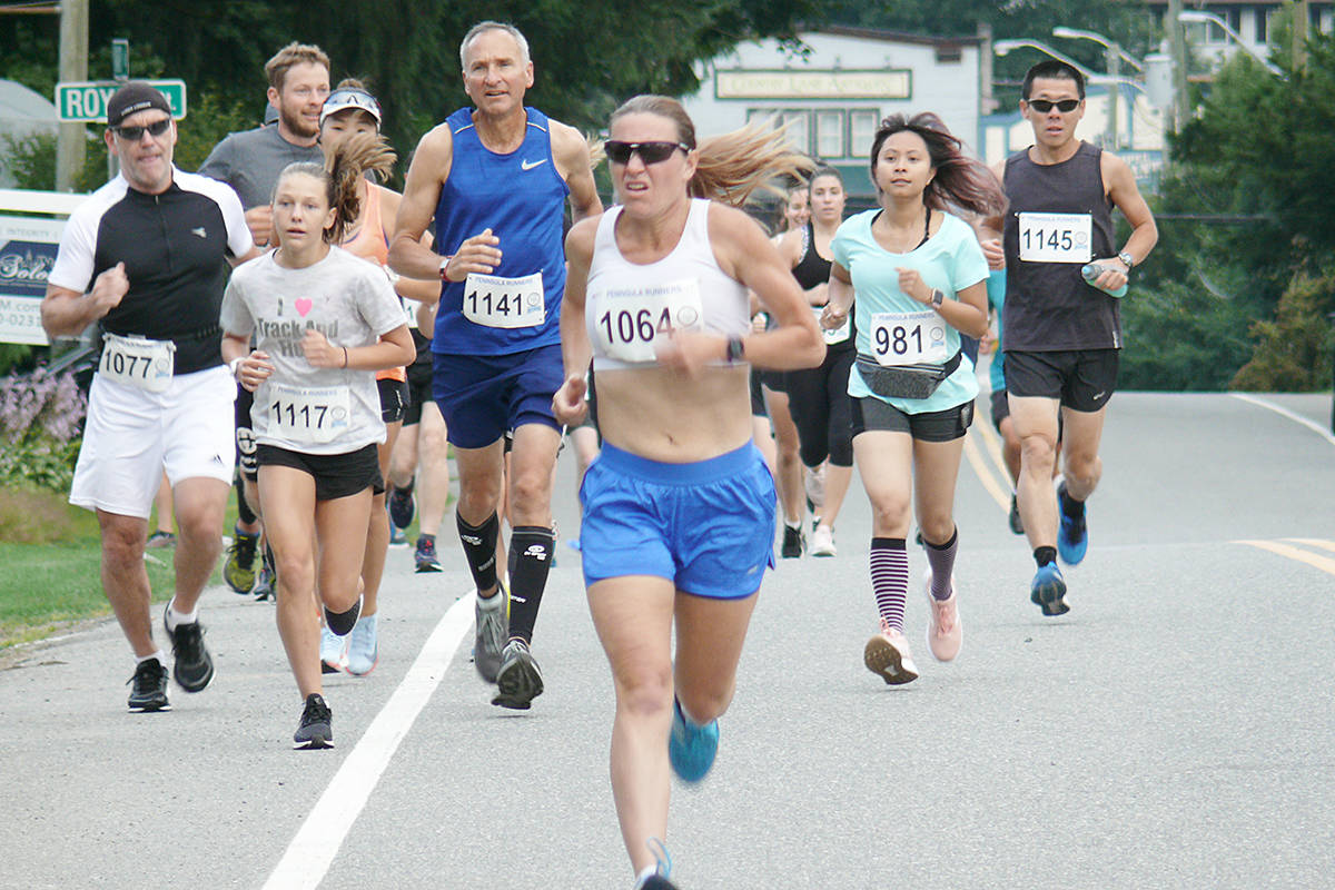 VIDEO: Fort Langley half marathon and 5K is a pretty, tough course