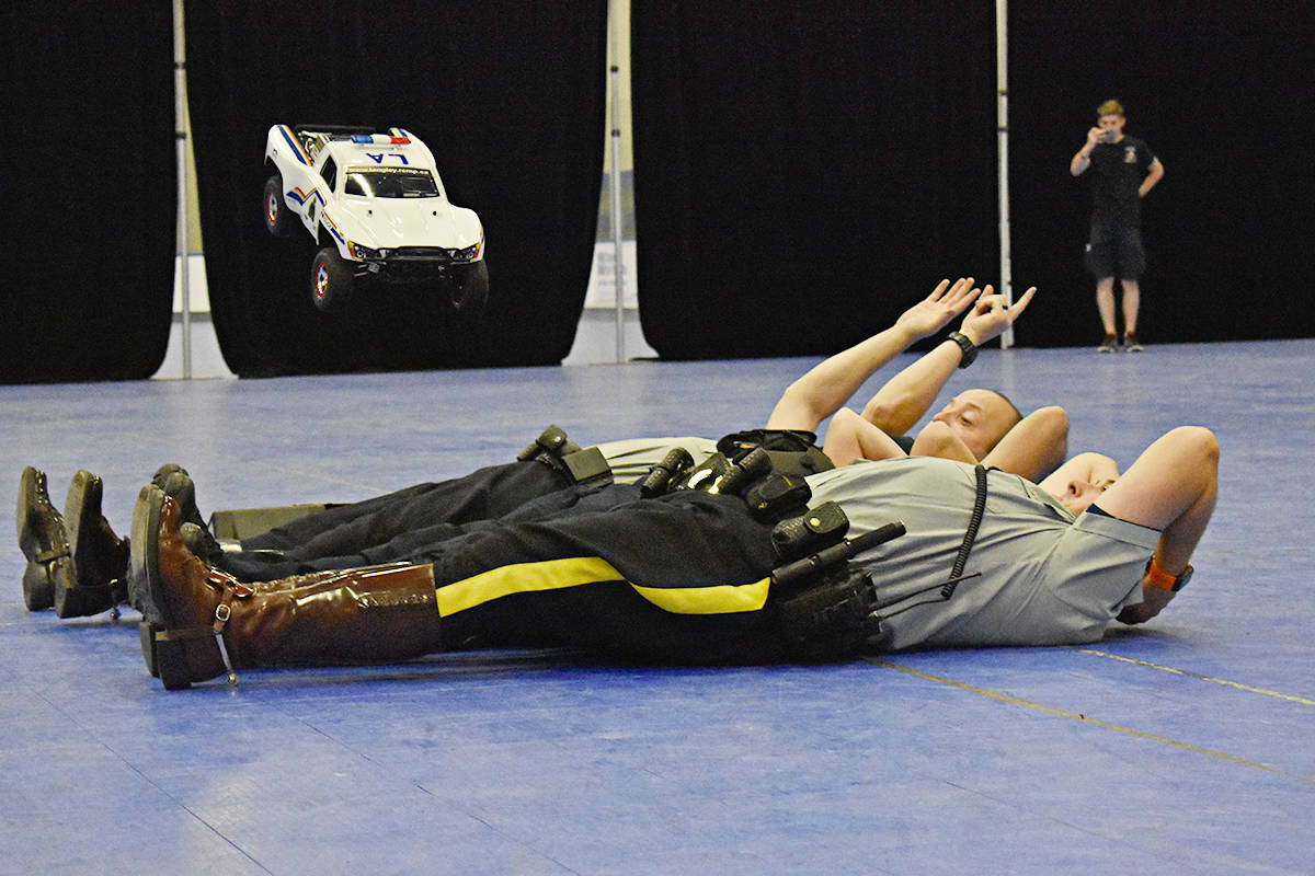 Remote controlled RCMP cruiser sparks community engagement in Langley
