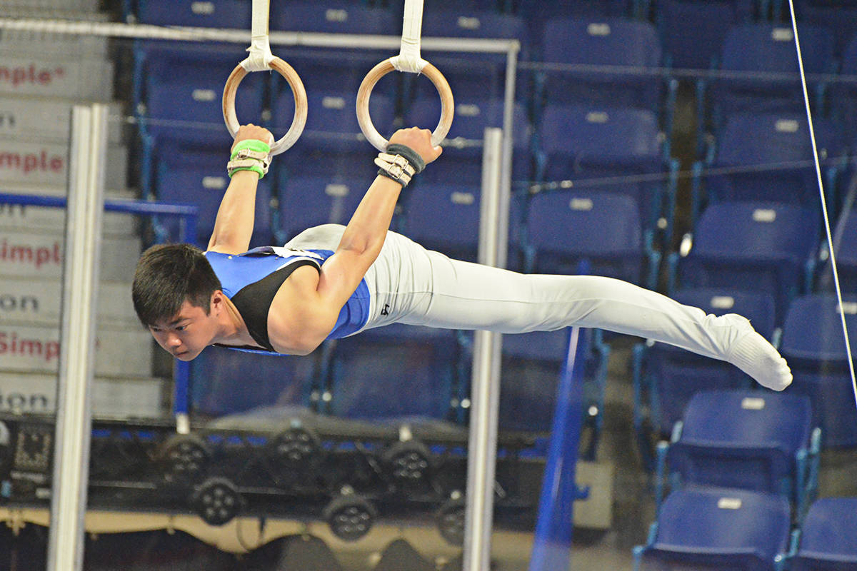Gymnasts compete for spot on national team in Langley