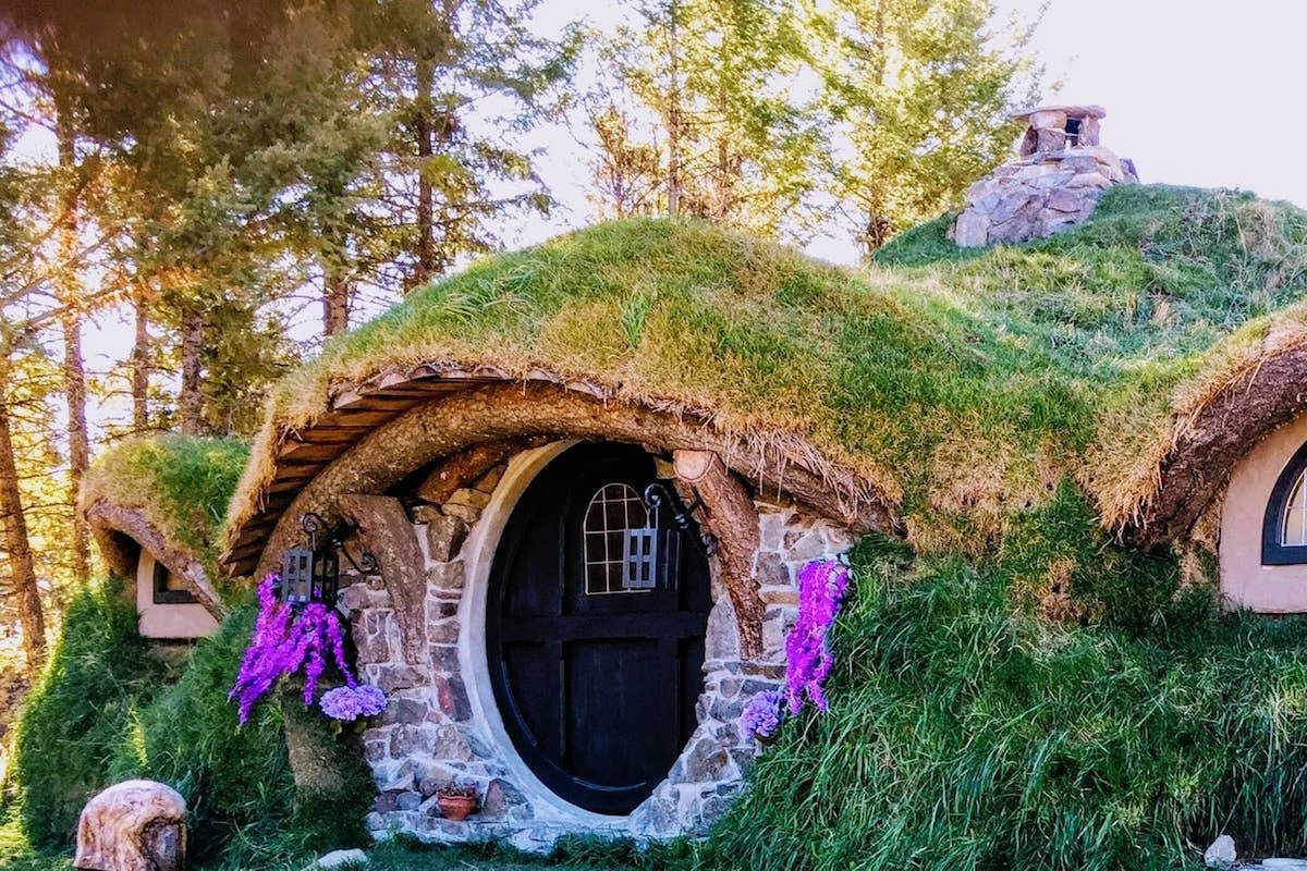 Halfling Hideaway is not a fictional home in the J.R.R. Tolkien's Middle Earth, it's an Airbnb accommodation outside of Osoyoos. The Lord of the Rings-themed space can accommodate two guests and is currently booking at $179 per night. (Photo from Airbnb)