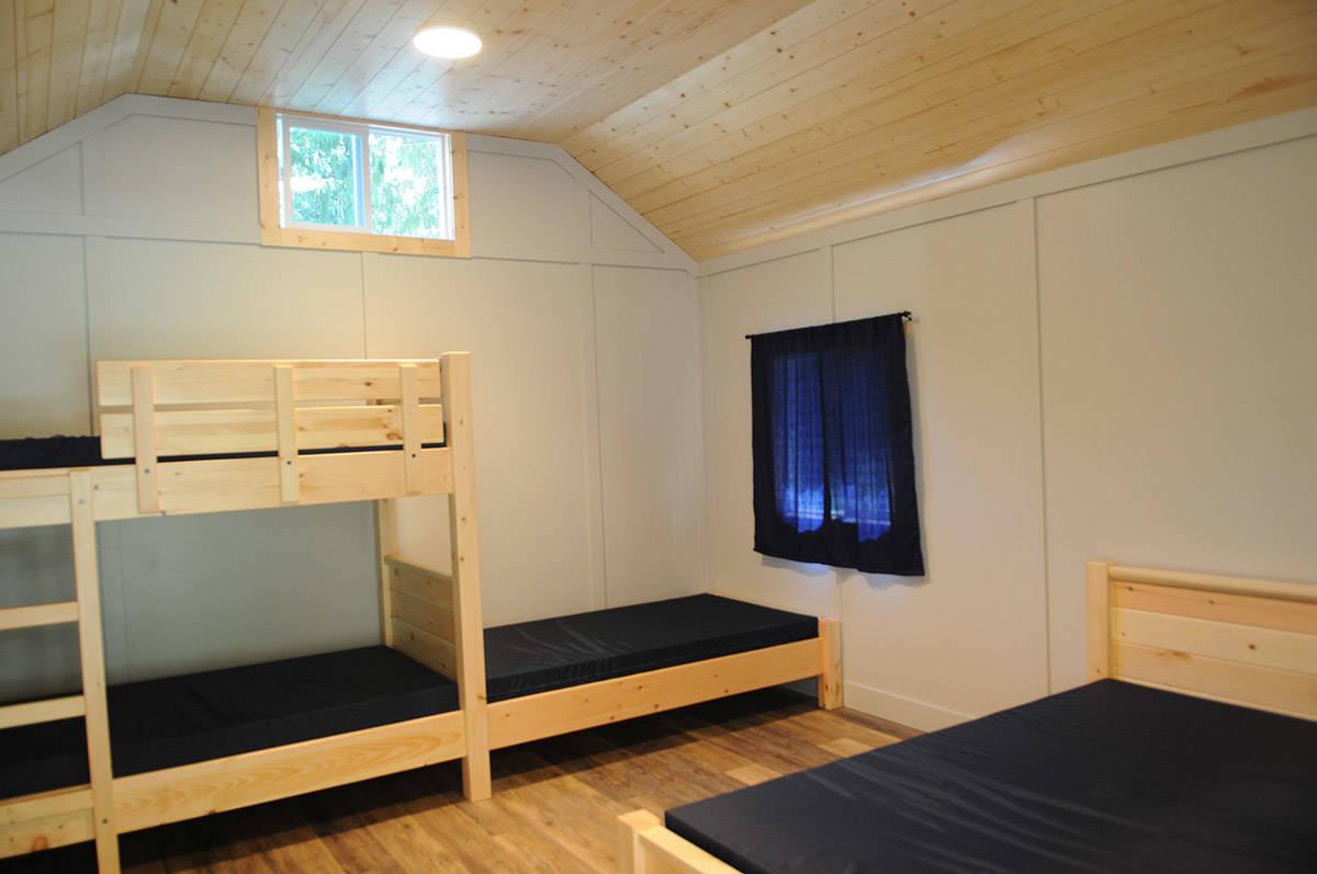 Each cabin sleeps up to five people. (Jenna Hauck/ The Progress)