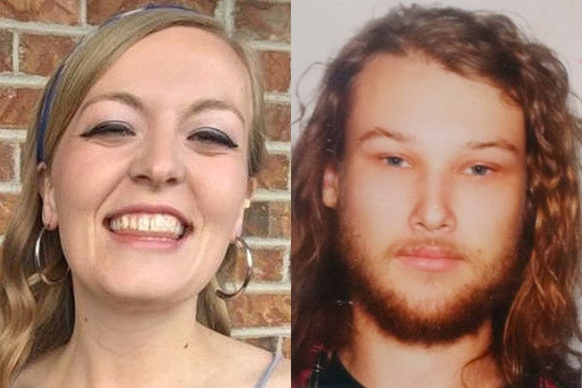 Chynna Noelle Deese of North Carolina (left) and Lucas Robertson Fowler of Australia (right) were found dead near Liard Hot Springs on July 15, 2019.