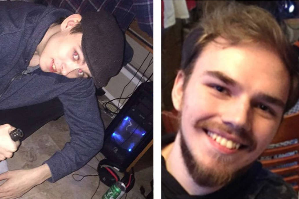Bryer Schmegelsky, left, and Kam McLeod, right, are both suspects in a double homicide and a suspicious death in B.C. (Instagram, RCMP)