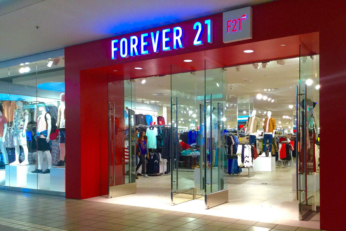Forever 21 was the target of anger on Twitter this week after sending diet bars with online orders. The company was accused of targeting their customers who'd ordered from the brand's plus-sized collection. (Photo by Mike Mozart/Flicker)