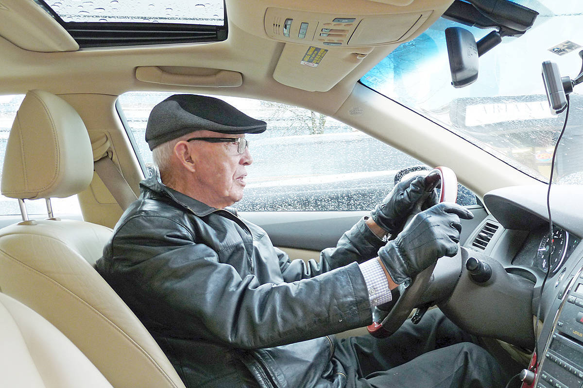 George Garrett of the Volunteer Cancer Drivers Society said the financial situation of the non-profit has improved, but with more demand has come an increased need for funding (Langley Advance Times File)