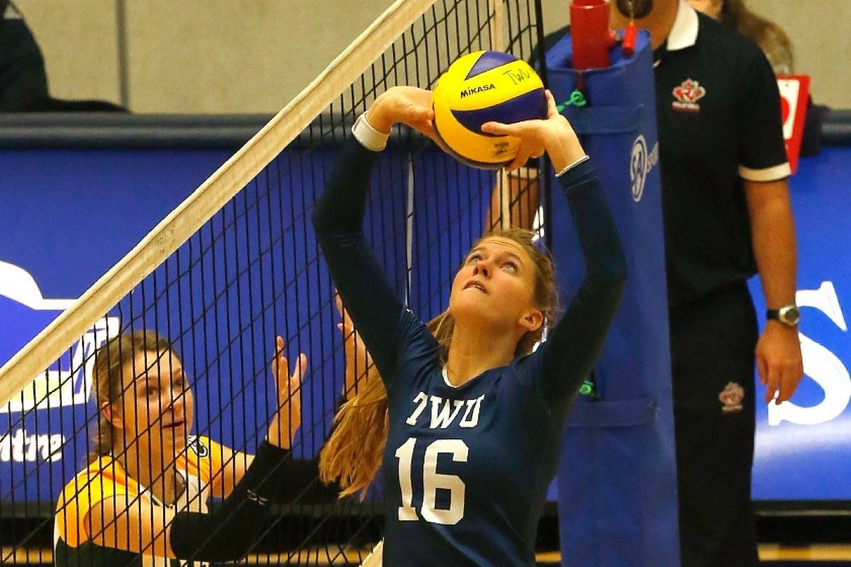 Brie King, a Langley native, will play volleyball for Canada at an Olympic qualifier in Russia. (File photo)