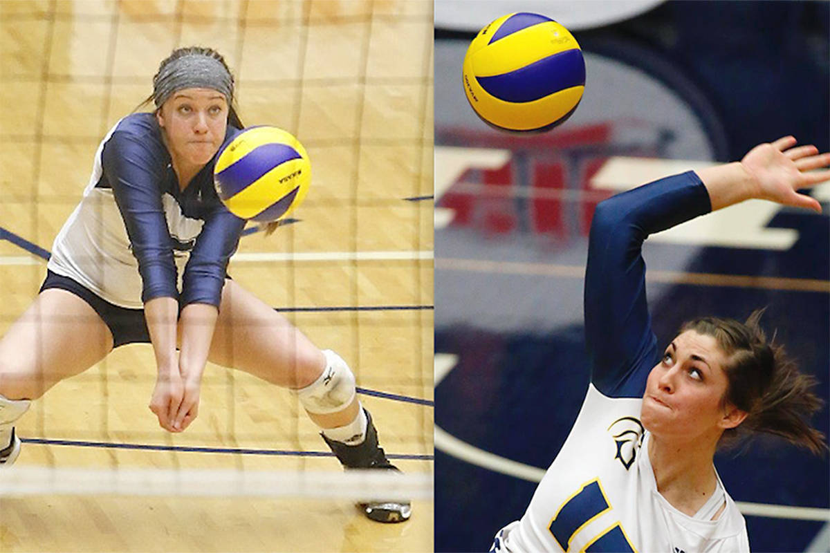 Spartan alums Kristen Moncks of Standard, Alta. and Alicia Perrin of Creston, B.C. were named to a 14-player Team Canada roster looking to earn a direct ticket to Tokyo. (File photo)