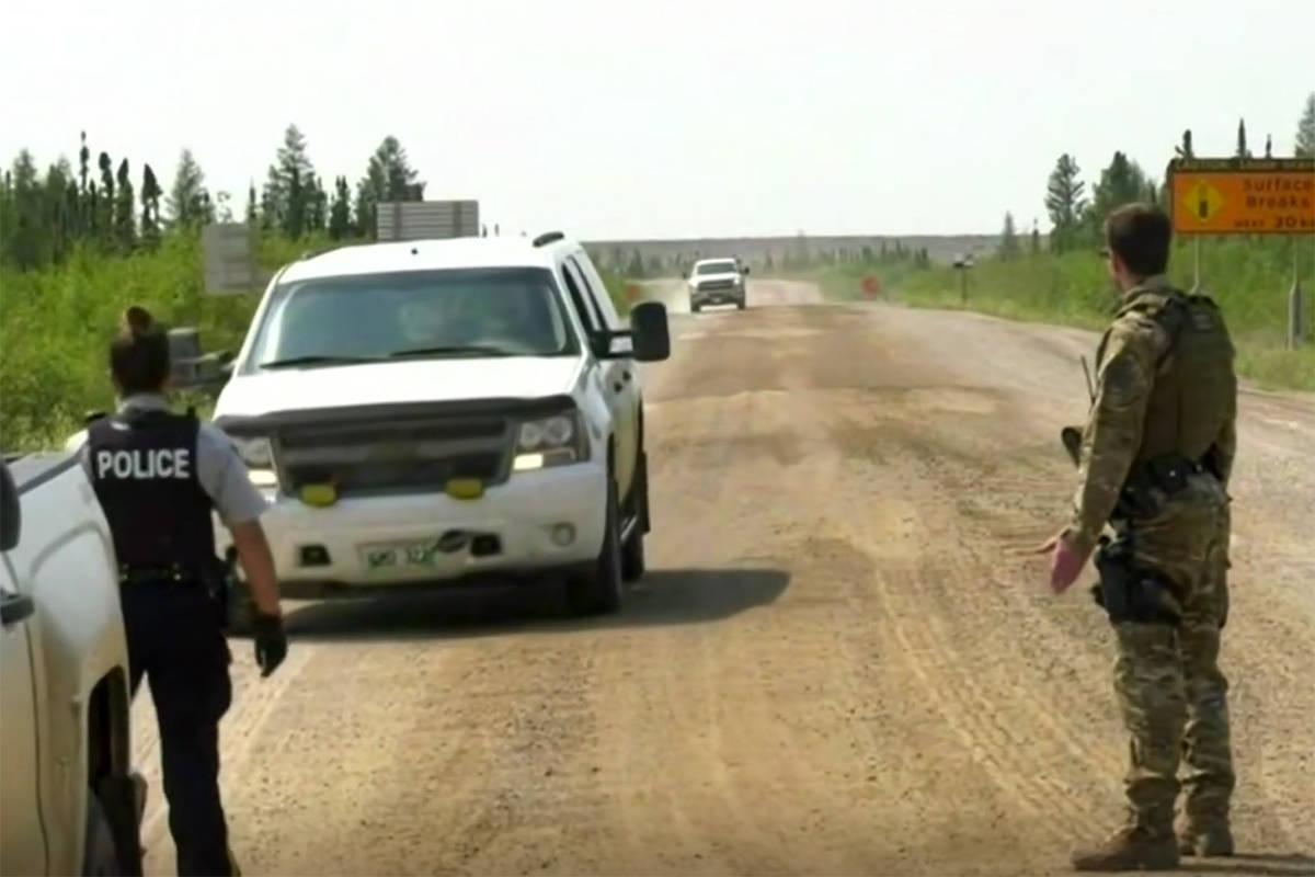 VIDEO: Investigators focus hunt for suspected B.C. killers back to Gillam, Man.