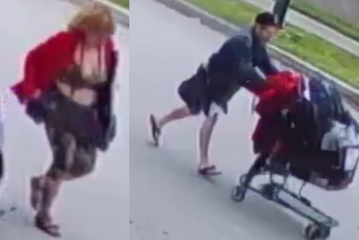 Vancouver Police Department released two CCTV images on July 31, 2019 in connection to a July 4 assault on a man in a wheelchair. (VPD handout)