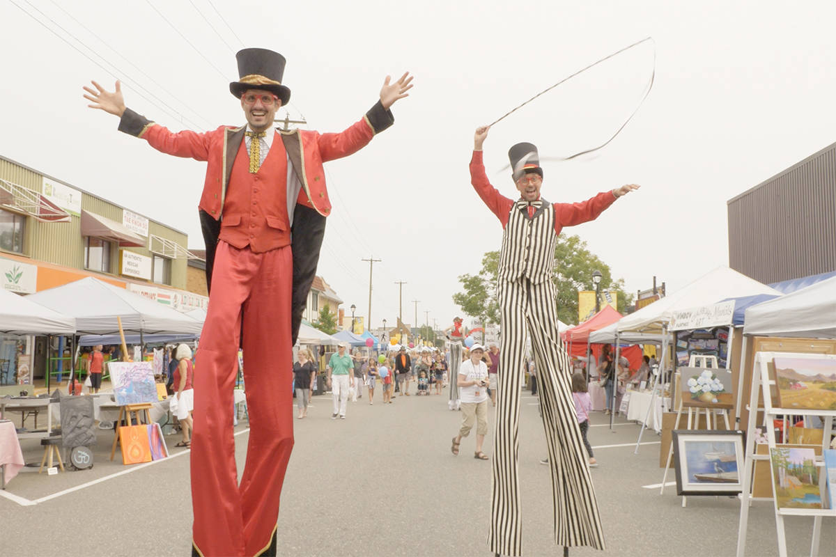 The Arts come Alive in downtown Langley Saturday