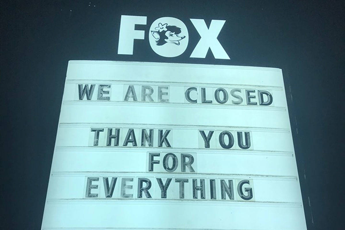 The Fox Showroom Pub has closed its doors permanently. (Fox Showroom Pub/Facebook)