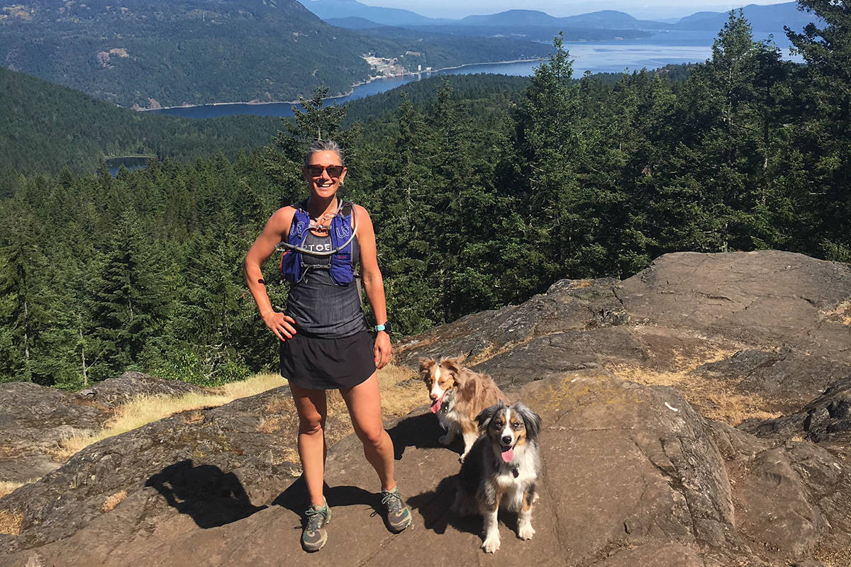 Claire Flewelling-Wyatt balances an active outdoor lifestyle with her property management career