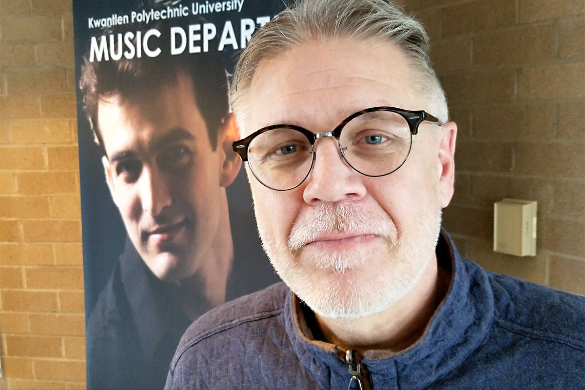 Don Hlus, the former director of guitar at the KPU school of music, said there appeared to be more than enough in the surplus to allow music admissions to continue. (File photo)