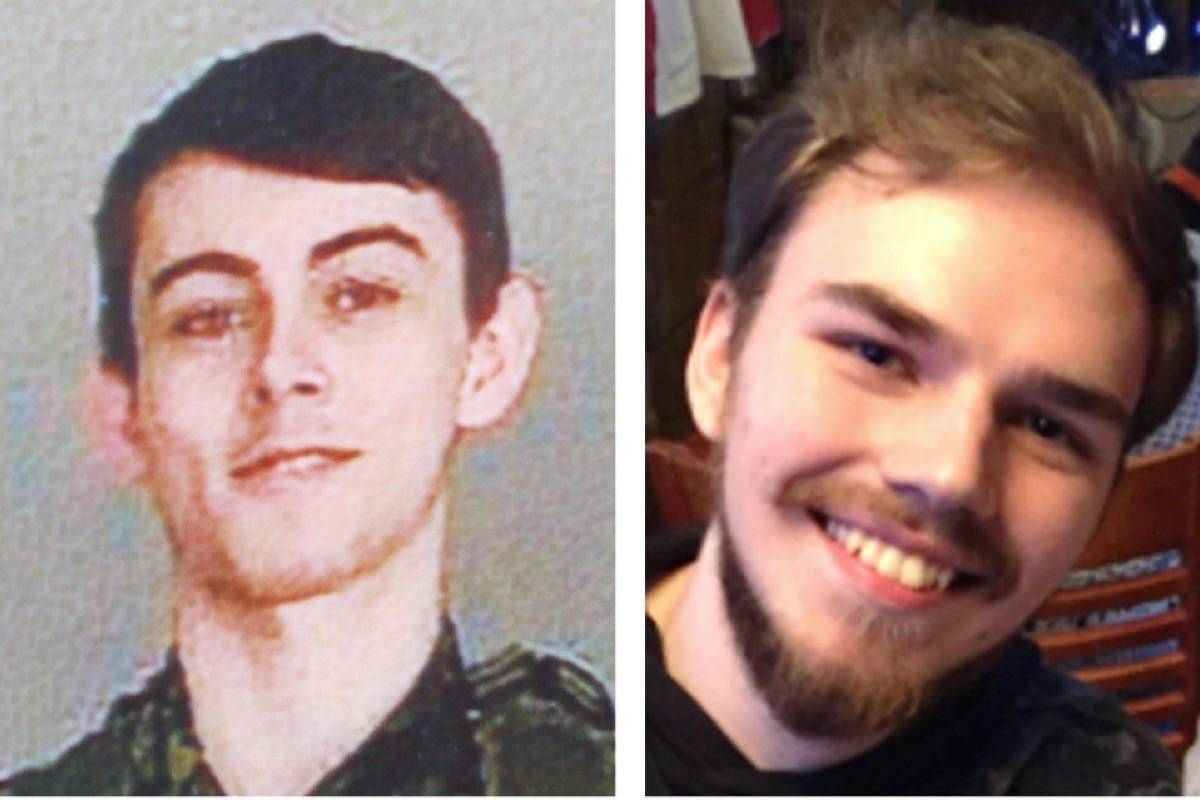 Kam McLeod, right, and Bryer Schmegelsky. (Police handouts)