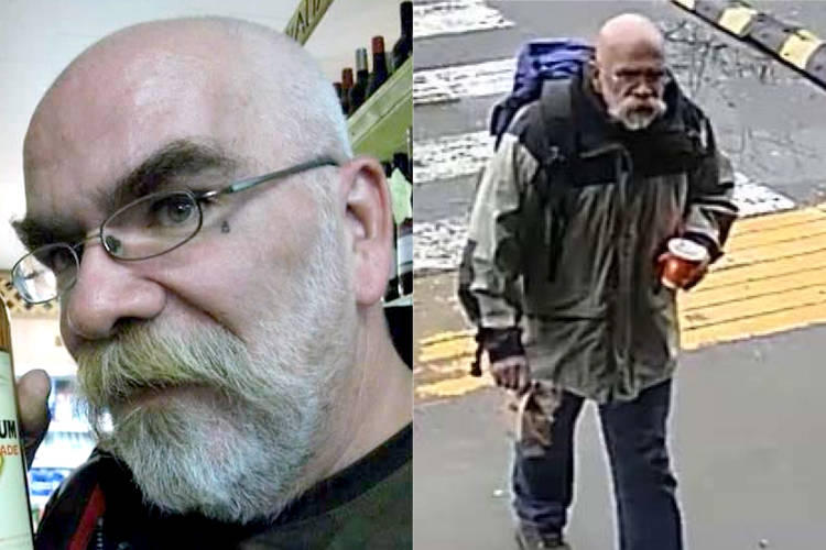 """Nanaimo RCMP looking for Steven Michael Bacon who they believe has """"important information"""" in the case of murdered teen Makayla Chang. (Photos submitted)"""