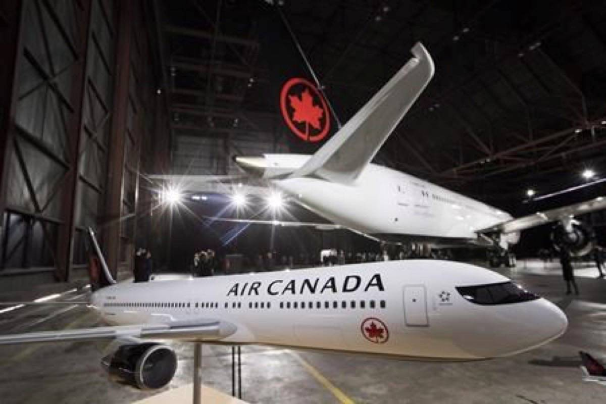 Air Canada (Photo by THE CANADIAN PRESS)