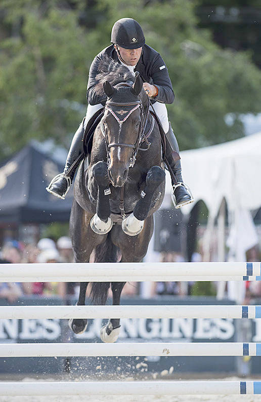 Kyle King and Christian won the first annual Vancouver Grand Prix hosted by Thunderbird Show Park in May of last year. (Cara Grimshaw Photography)