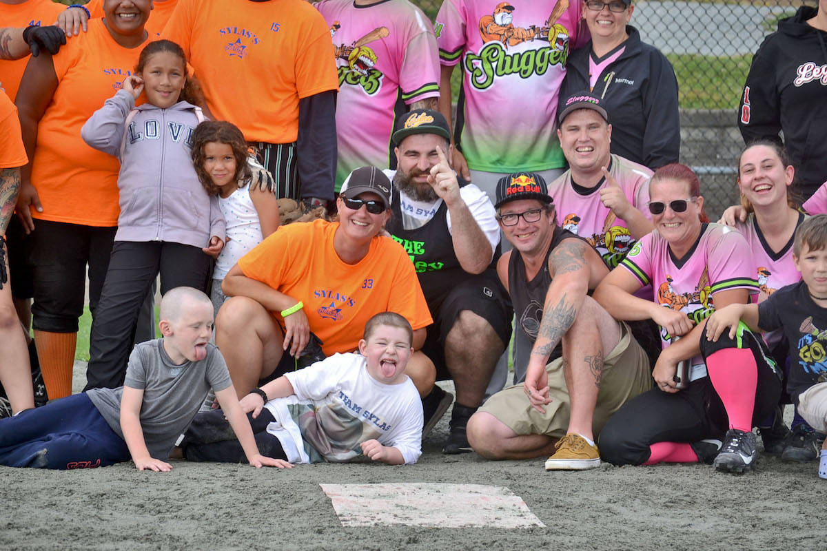 PHOTOS: Aldergrove slo-pitch tournament uplifts five-year-old battling cancer