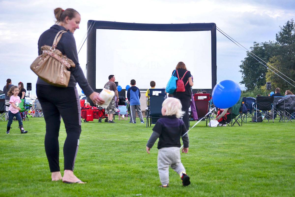 PHOTOS: Aldergrove's annual cinema under the stars
