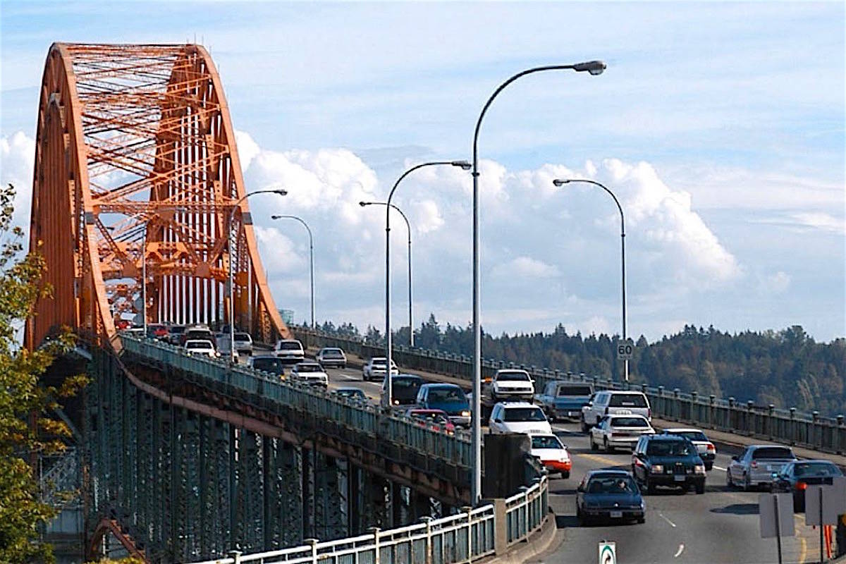 Pattullo Bridge replacement is one of a group of major construction projects due to begin in B.C. (Black Press Media)