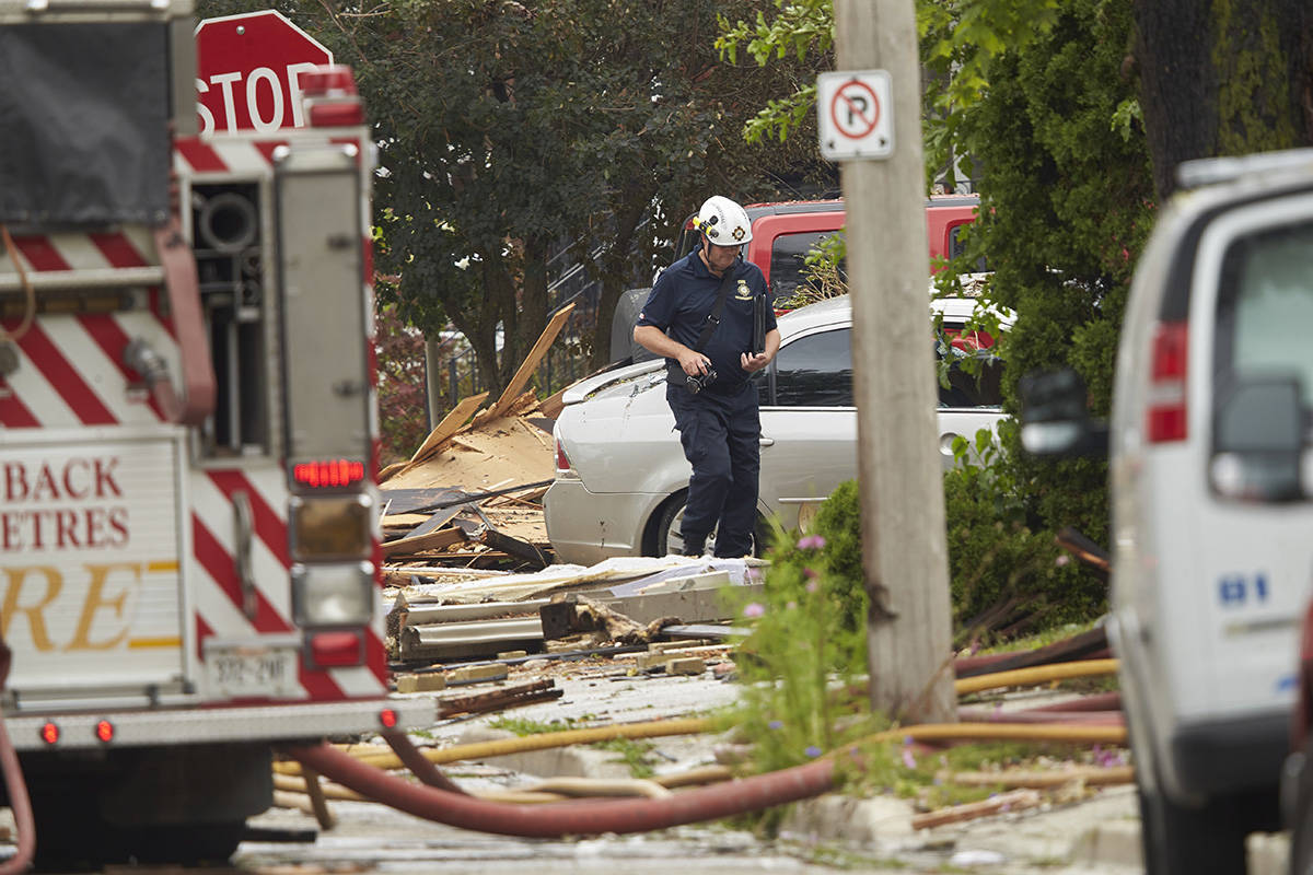 Vehicle slams into house causing explosion in London, Ont., police say
