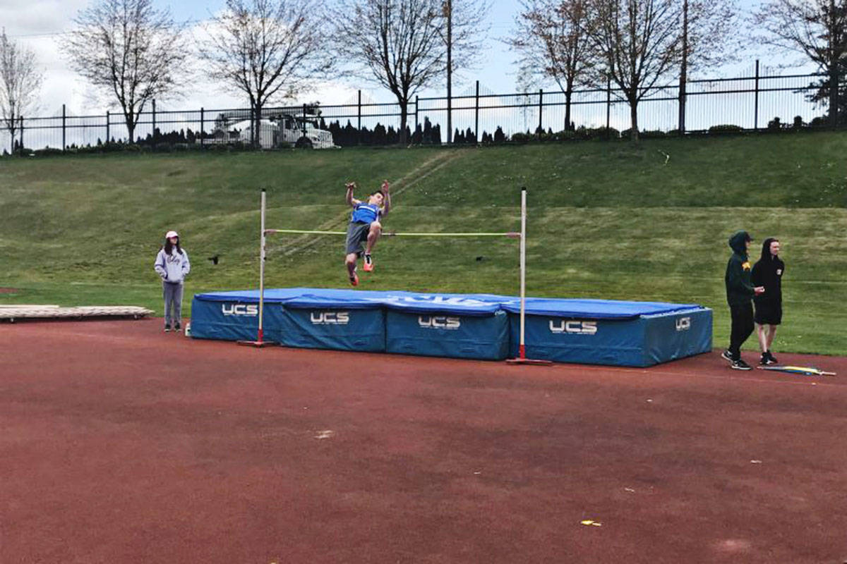 Evan Kimm has mostly done basketball but recently tried high jump and has been assessed by Olympic experts as having the skills for rowing. (RBC Training Ground photo)
