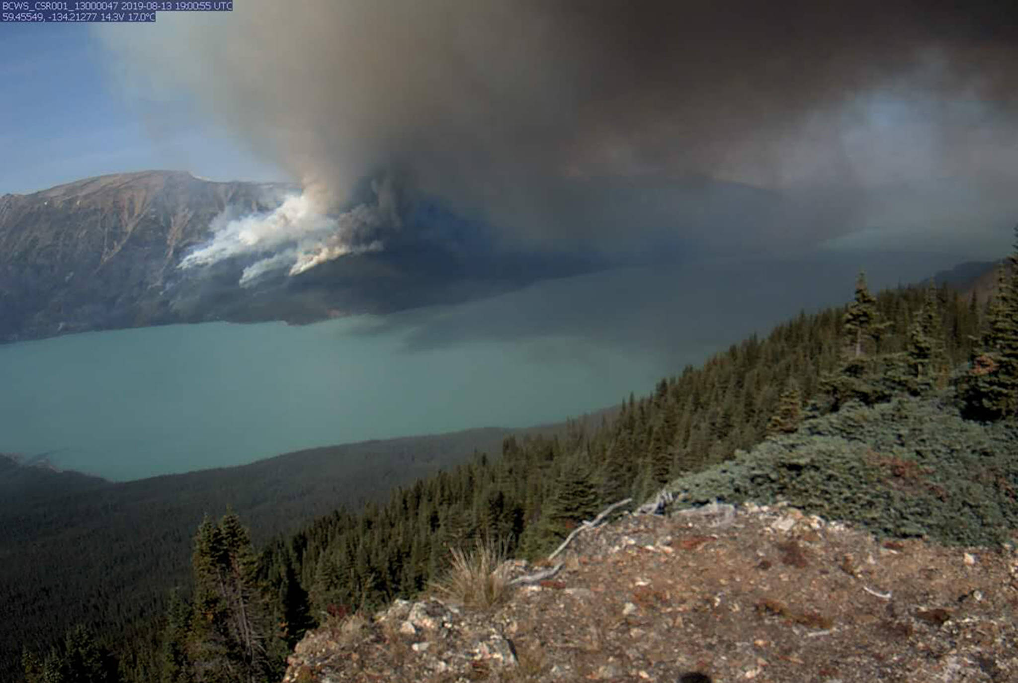 Strong winds fuel northern B.C. wildfires; progress made on Eagle Bluff blaze