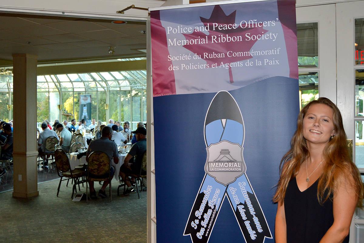 VIDEO: Daughter of slain Abbotsford Police officer speaks at charity dinner