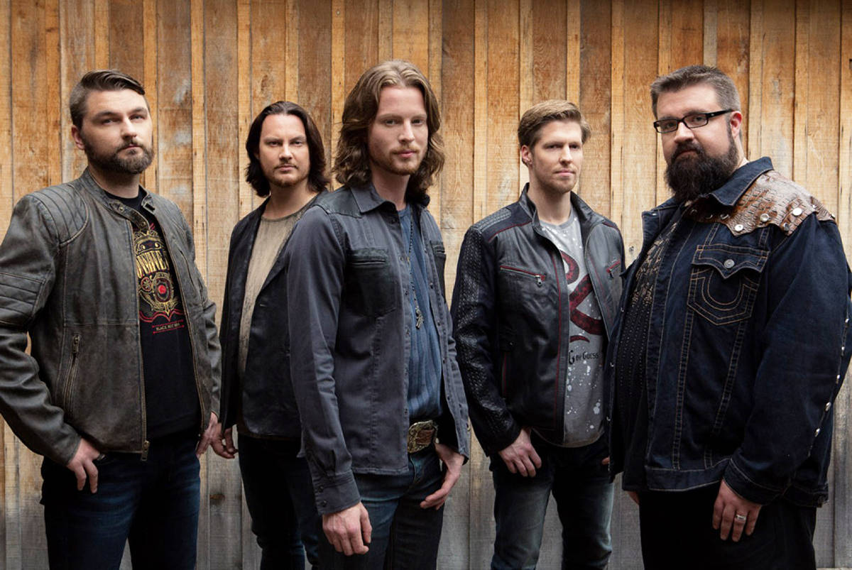 The band Home Free in a publicity photo.