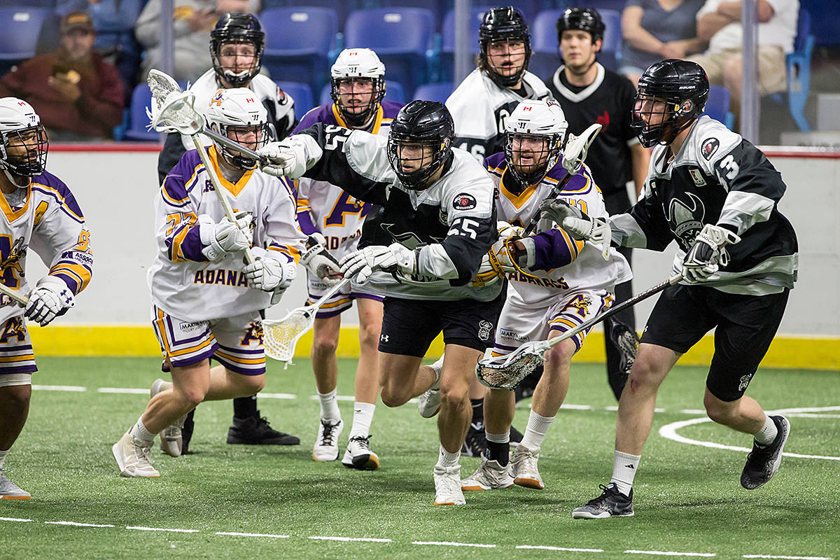 Still anyone's game in lacrosse championships unfolding in Langley