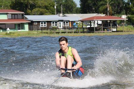 'It's just the freedom:' Paralyzed Broncos player pursuing life on the water
