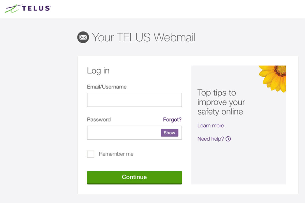 Email service Telus.net has been down since Thursday, Aug. 15, 2019. (Telus)
