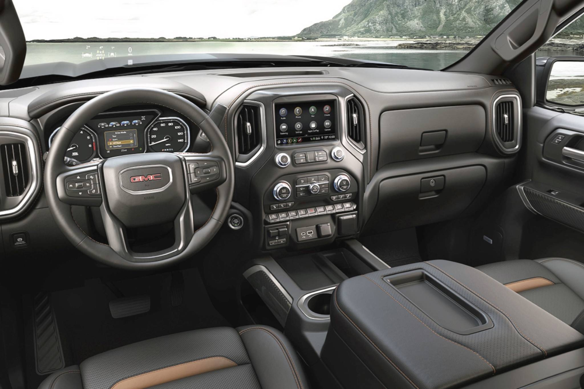 Bear in mind that this is the interior of a hard-working pickup truck. The top-end Denali model brings the kind of refinement that's normally found in a luxury car. PHOTO: GMC